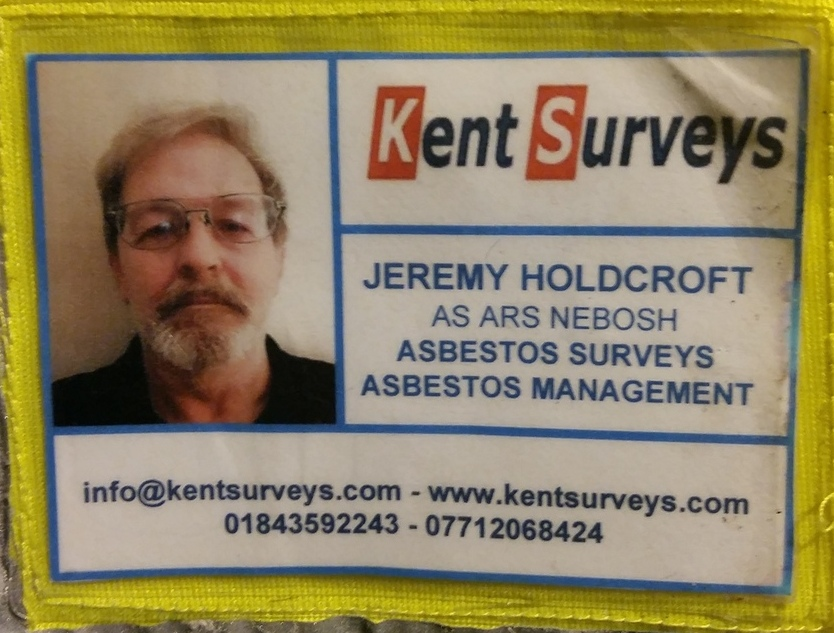 Asbestos surveyor and consultant Jeremy Holdcroft